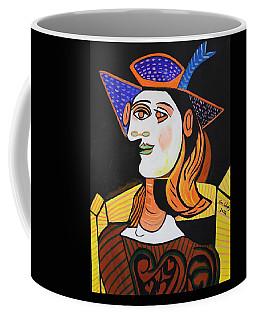 Hair Net  Picasso Coffee Mug