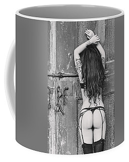 Coffee Mug featuring the photograph Pretty Things Are Going To Hell by Traven Milovich