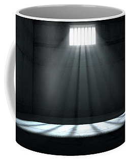 Sunshine Shining In Prison Cell Window Coffee Mug