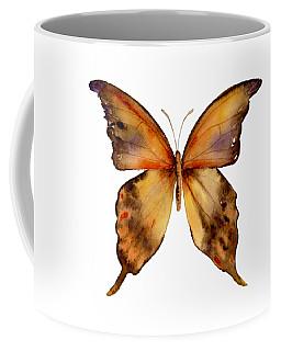 7 Yellow Gorgon Butterfly Coffee Mug
