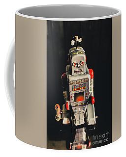 70s Mechanical Android Bot  Coffee Mug