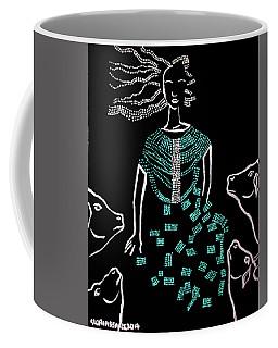 Dinka Bride South Sudan Coffee Mug by Gloria Ssali