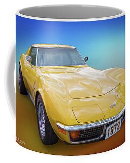 72 Corvette Coffee Mug