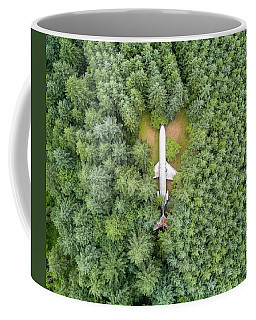 727 Airplane House Coffee Mug