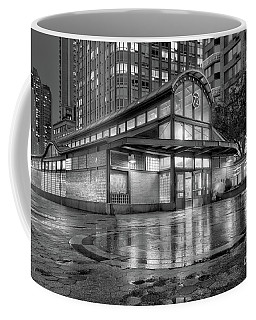 72nd Street Subway Station Bw Coffee Mug