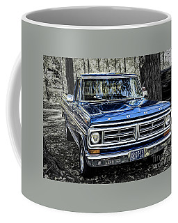 Coffee Mug featuring the photograph 73 Ford Pickup by Brad Allen Fine Art