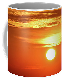 Coffee Mug featuring the photograph 7.55 Am  by Lyle Crump