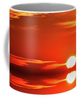 7.56.13 Am 2016-12-20 Reflection  Coffee Mug by Lyle Crump