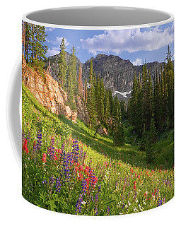 Albion Basin Wildflowers Coffee Mug