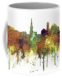 Alexandria Virginia Skyline Coffee Mug by Marlene Watson