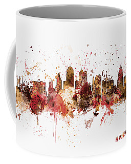 Kansas City Skyline Coffee Mug