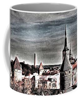 Old Tallinn Estonia Coffee Mug by Yury Bashkin