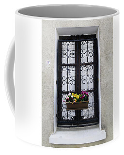 Coffee Mug featuring the photograph 8 Rue Amboise by Rick Locke