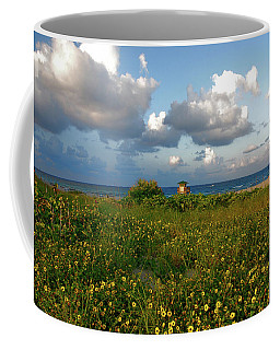 Coffee Mug featuring the photograph 8- Sunflowers In Paradise by Joseph Keane