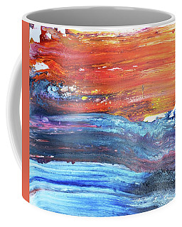 84-offspring While I Was On The Path To Perfection 84 - World's Fastest Abstract Painting Coffee Mug