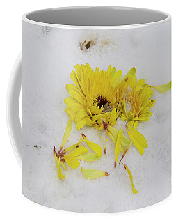 Yellow Gerber Coffee Mug