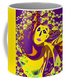 874 - Mellow Yellow Clown Lady - 2017 Coffee Mug
