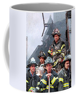 9/11 Firefighters Coffee Mug