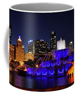 911 Tribute At Buckingham Fountain, Chicago Coffee Mug