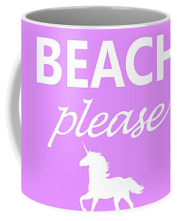 Beach Please Coffee Mug