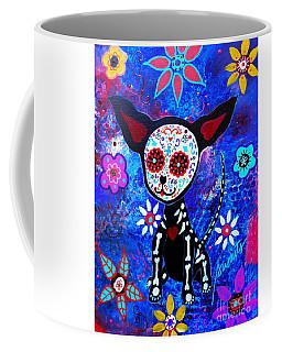 Chihuahua Dia De Los Muertos Coffee Mug