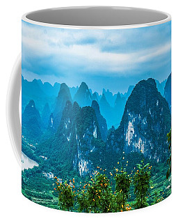 Karst Mountains Landscape Coffee Mug