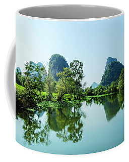 Karst Rural Scenery Coffee Mug