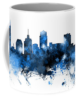 Nashville Tennessee Skyline Coffee Mug