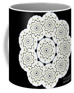 9-pointed Orchid Star Coffee Mug
