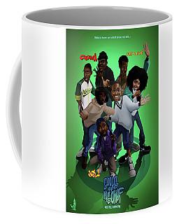 Coffee Mug featuring the digital art 93 Till by Nelson Garcia