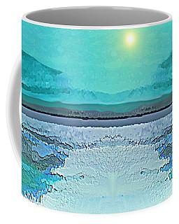 - 938 - Abstract Seascape - 2017  Coffee Mug