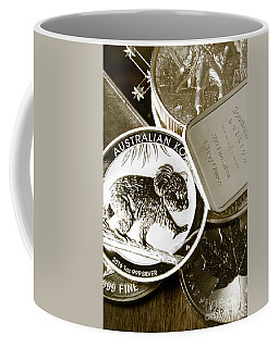 999 Silver Mint Coffee Mug