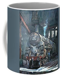 9f On Saltley Shed 1958. Coffee Mug