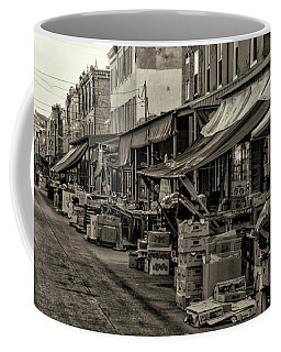 Coffee Mug featuring the photograph 9th Street Italian Market - Philadelphia Pennsylvania by Bill Cannon