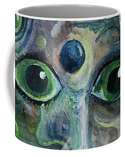A Astronaut Dreams Of Her Infinite Cosmos Coffee Mug by Jame Hayes