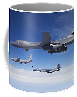 A B-1b Lancer Stands By As Another Coffee Mug