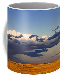 Coffee Mug featuring the photograph A Barn On The Prairie by Monte Stevens