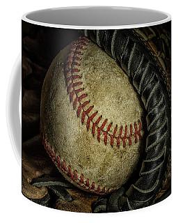 A Baseball Still Life Coffee Mug