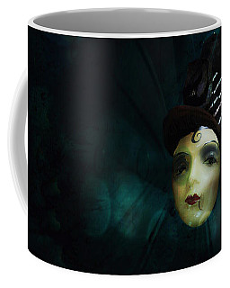 Coffee Mug featuring the digital art A Basement Apartment by Delight Worthyn