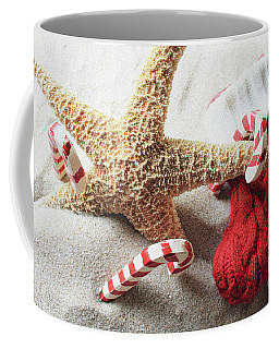A Beachy Christmas Coffee Mug