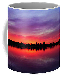 Sunrise At Sloan's Lake Coffee Mug