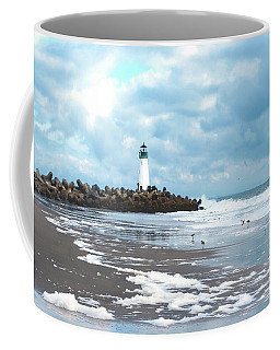 A Beautiful Day At The Beach Coffee Mug