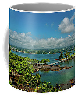 A Beautiful Day Over Hilo Bay Coffee Mug