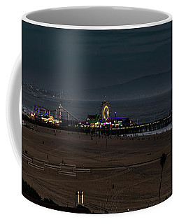 A Beautiful Evening At The Pier Coffee Mug