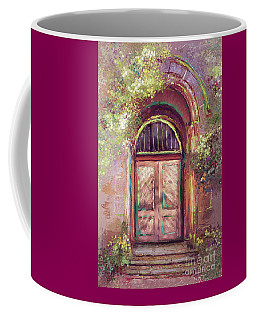 Coffee Mug featuring the digital art A Beautiful Mystery by Lois Bryan