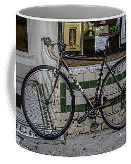 A Bicycle In The French Quarter, New Orleans, Louisiana Coffee Mug