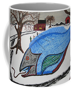 A Big Fish Tale Coffee Mug by Jeffrey Koss
