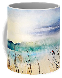 A Bird In Swamp Coffee Mug by Yoshiko Mishina