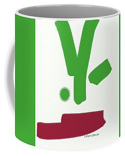 A Bit Of Christmas Coffee Mug by Lenore Senior