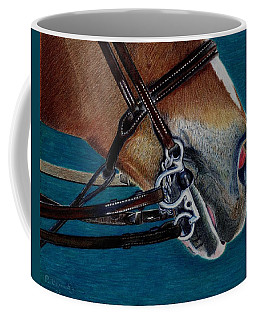 A Bit Of Control - Horse Bridle Painting Coffee Mug